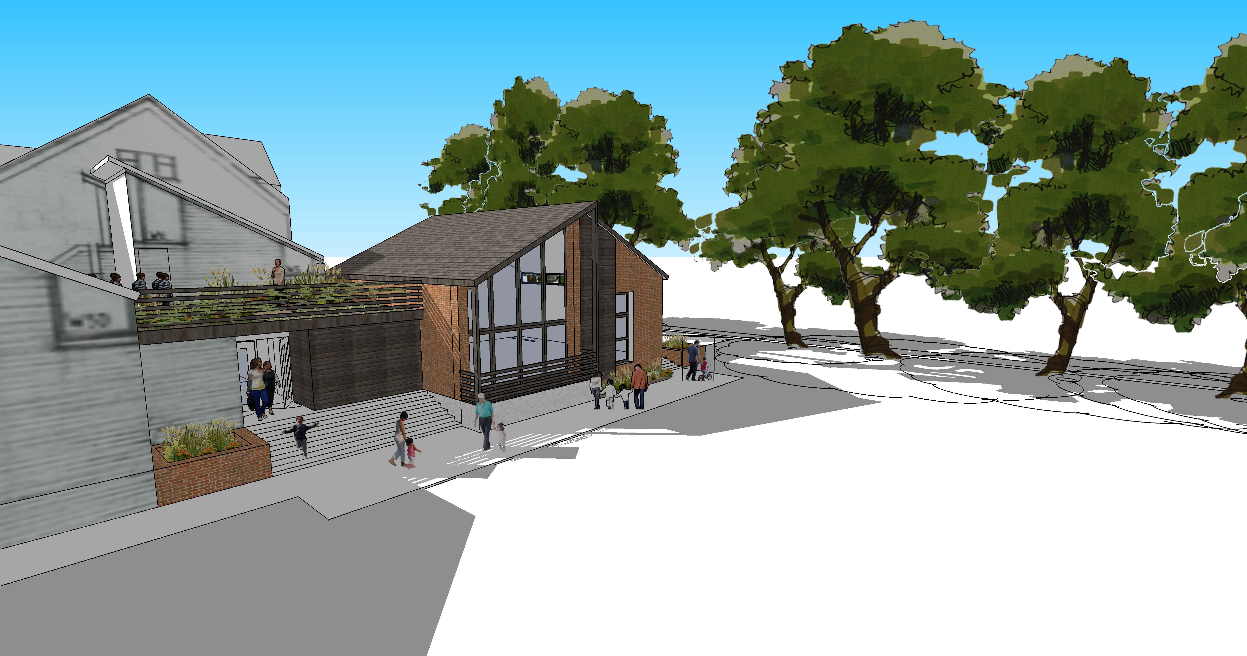 Niemen Architects Leeds West Yorkshire Weetwood School Education Concept