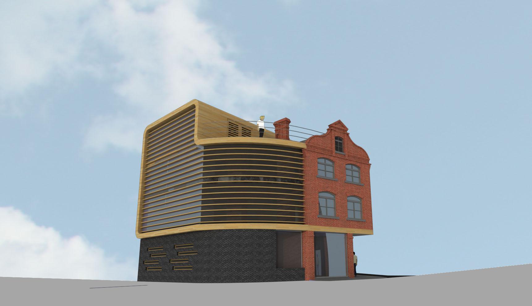 Niemen Architects Leeds Commercial Concept Blayd's Yard