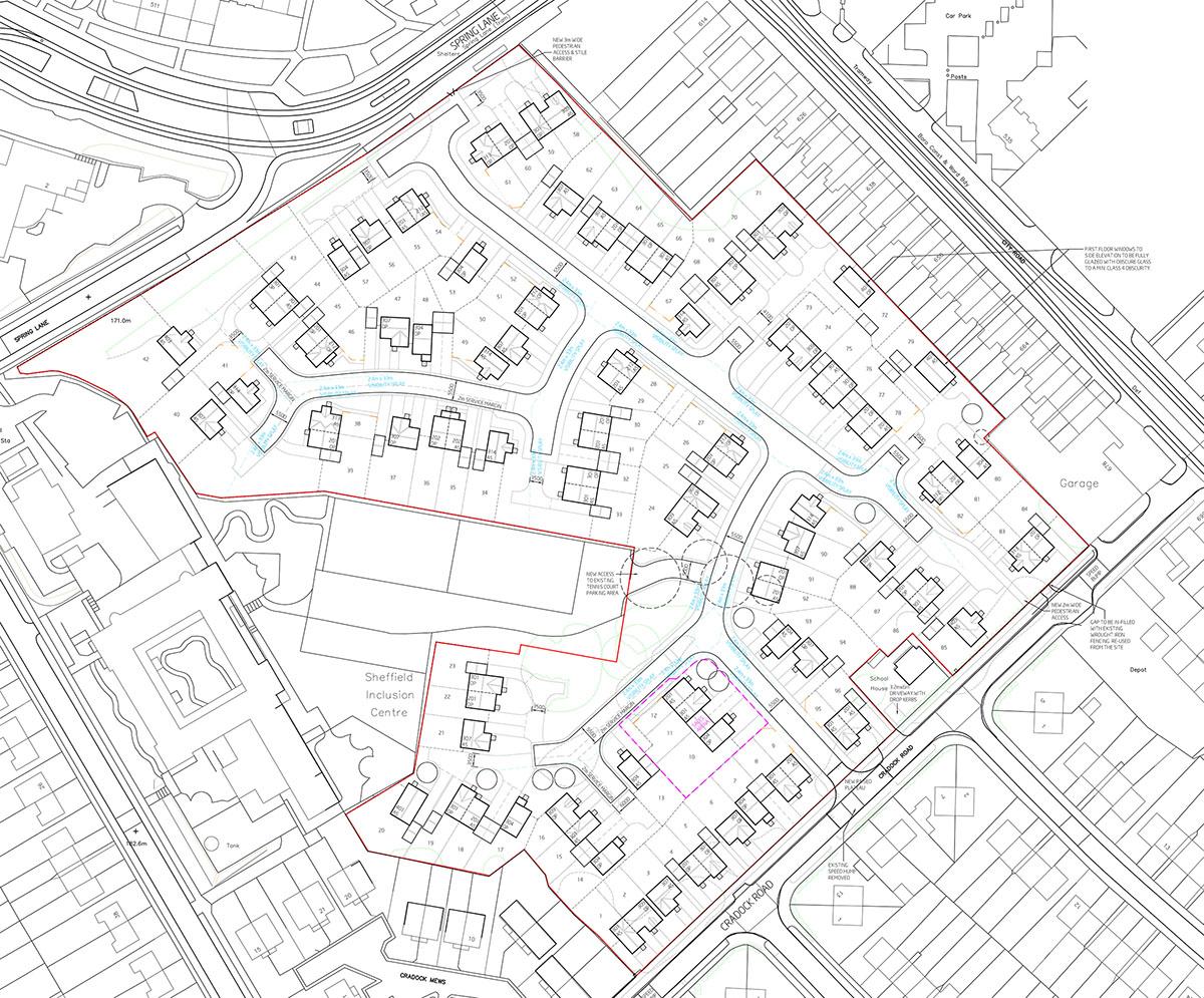 Niemen Architects Yorkshire Cradock Road Sheffield Residential Gleeson Homes