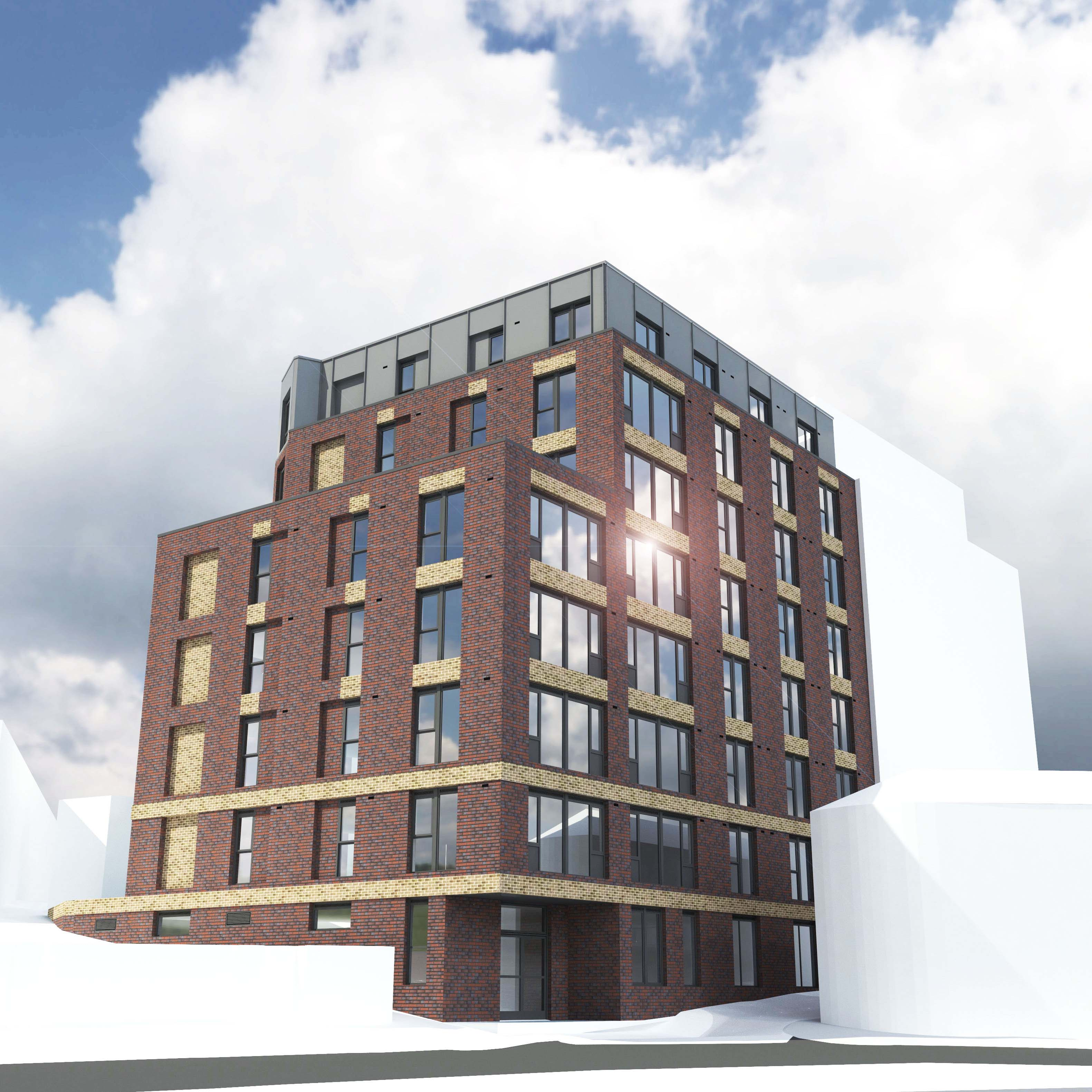 Niemen Architects Leeds Trippet Lane Sheffield Student Accomodation KMRE